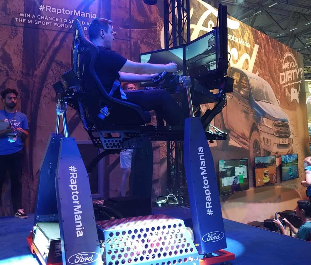 4D motion seat