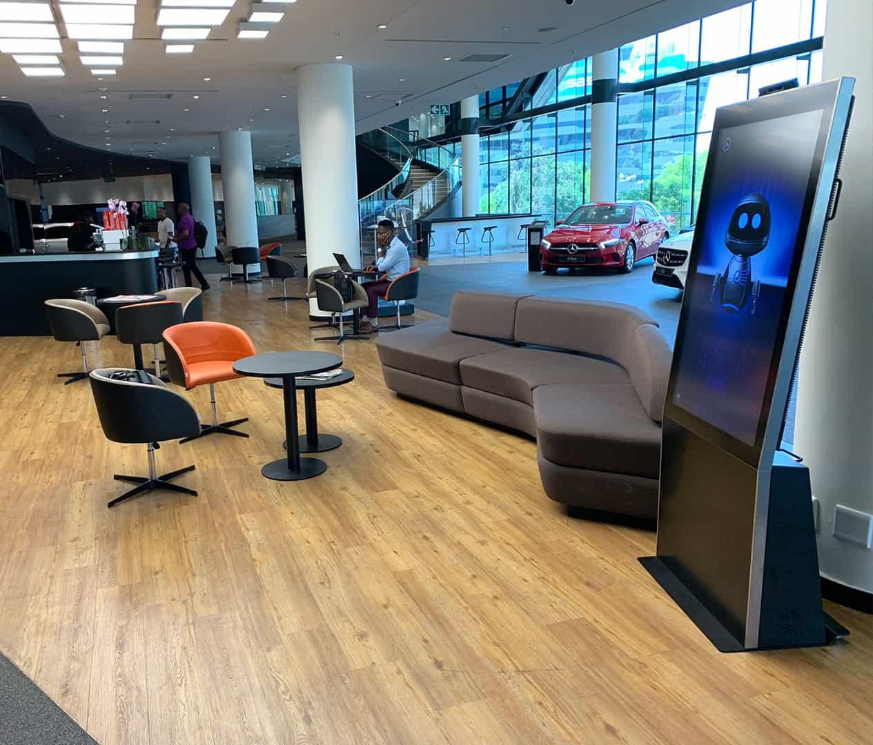 Mercedes retail innovation