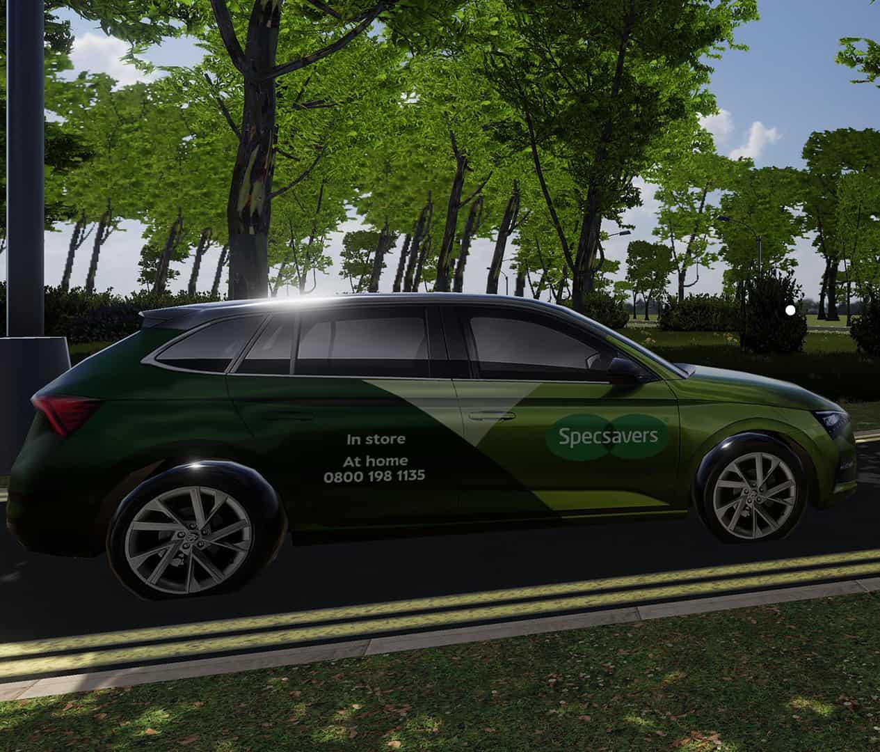 VR Driving Training