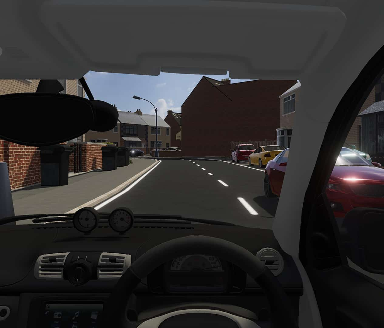 VR Drivers View
